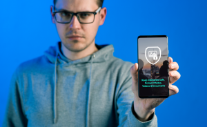 secure photos and videos